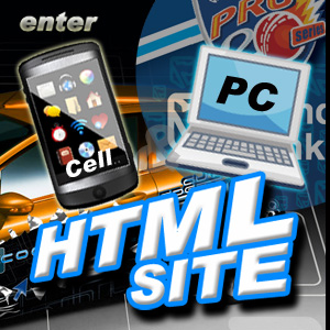 Enter our HTML site(cell phone / PC users)