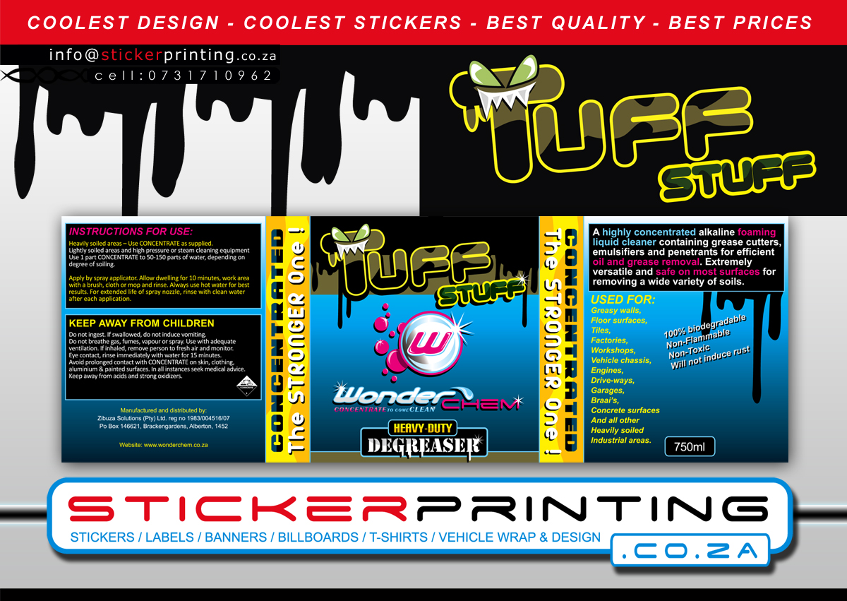 sticker  u0026 label design