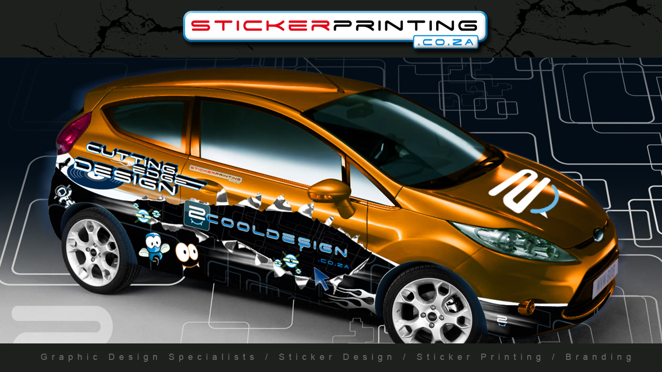 vehicle wrapping sticker printingsticker printing